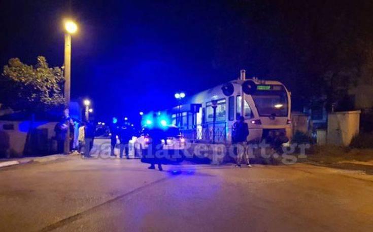 Τρένο παρέσυρε άνδρα στη Λαμία