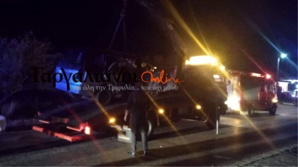 Τραγωδία στην Κυπαρισσία: Τροχαίο με τρεις νεκρούς και τρεις τραυματίες
