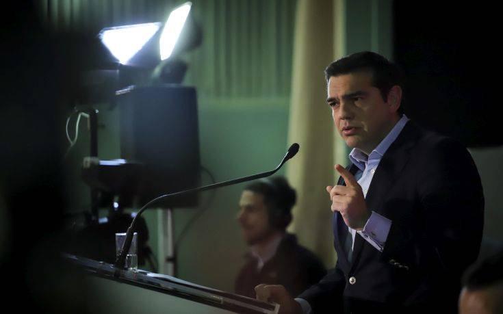 Τσίπρας για Συμφωνία Πρεσπών: Είμαστε περήφανοι γι' αυτό το βήμα