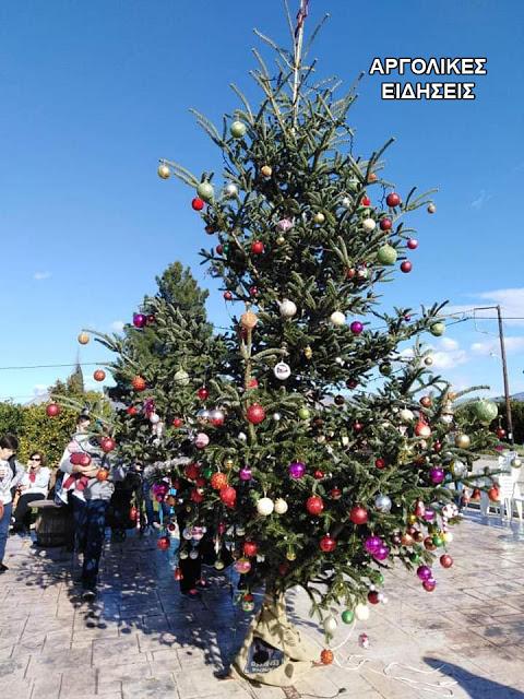 Αργολίδα: Έκλεψαν τον στολισμό από χριστουγεννιάτικο δέντρο [φωτο]