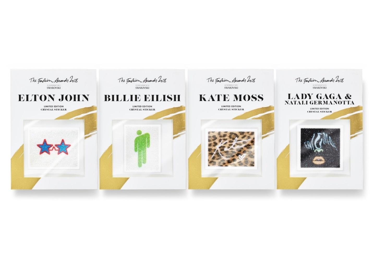 Η Swarovski λανσάρει την περιορισμένη έκδοση Crystal Stickers προς τιμή του fashion awards 2018