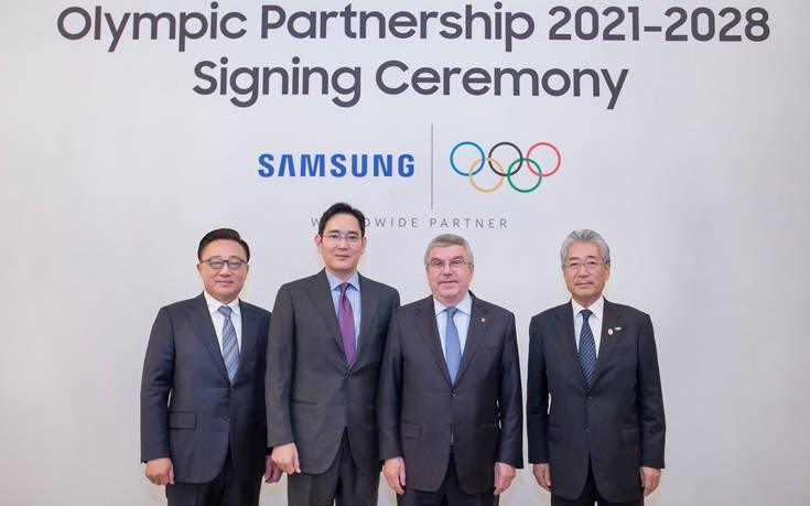 Η Διεθνής Ολυμπιακή Επιτροπή και η Samsung επεκτείνουν τη συνεργασία τους έως το 2028