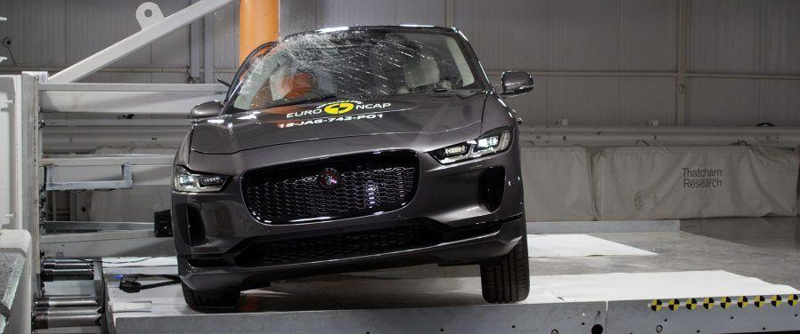 Πέντε αστέρια στην ασφάλεια για το ηλεκτρικό μοντέλο I-PACE της Jaguar