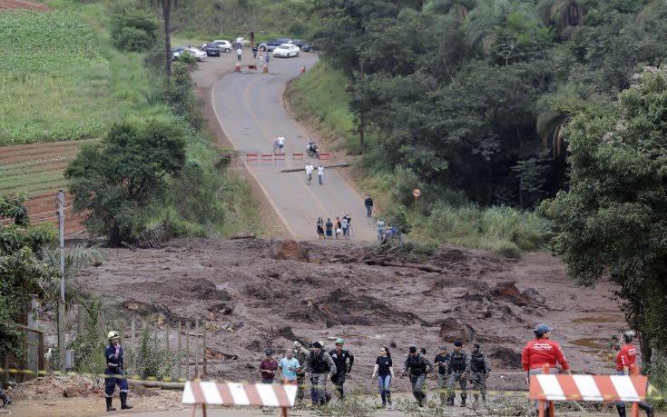 Εκκενώνονται χωριά στη Βραζιλία, κίνδυνος νέας κατάρρευσης φράγματος