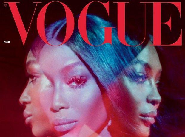 Η Naomi Campbell στο εξώφυλλο της βρετανικής Vogue αποδεικνύει ότι θα είναι για πάντα το supermodel που θυμάσαι