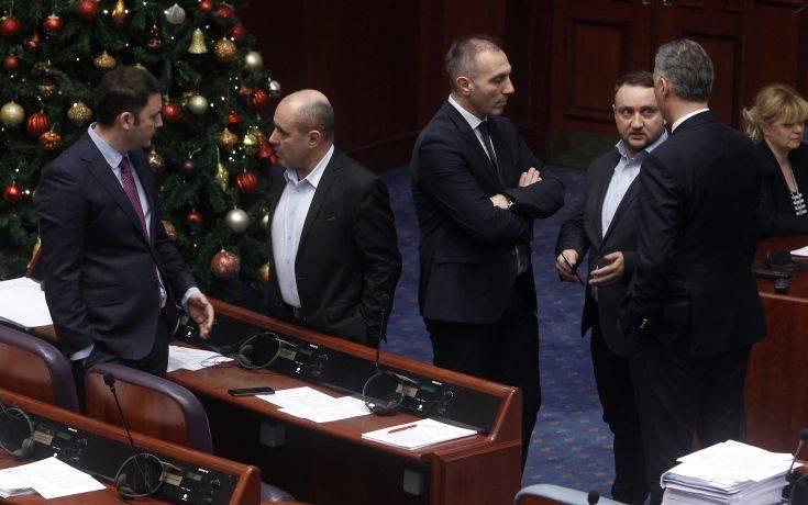 Αναβολή στην αναβολή για τη συζήτηση στη Βουλή της ΠΓΔΜ