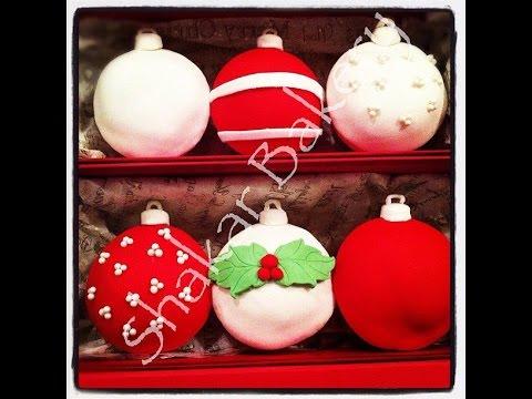 Χριστουγεννιάτικα στολίδια που τρώγονται