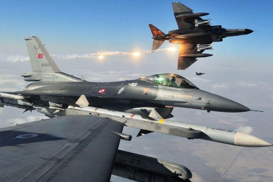 Είκοσι παραβιάσεις στο Αιγαίο από οπλισμένα τουρκικά F16