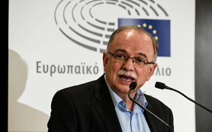Παπαδημούλης: Η αύξηση των ανισοτήτων απειλεί να αποσυνθέσει την Ευρώπη