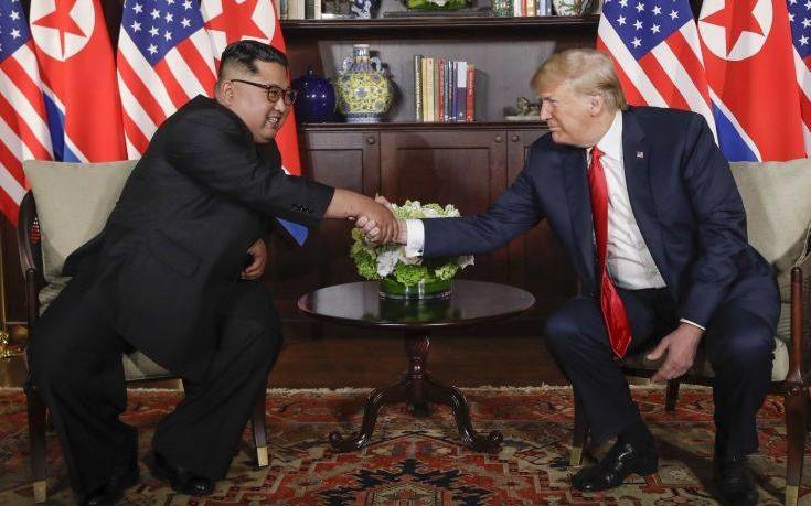 Ο Τραμπ «ξέκοψε» την κουβέντα για αποχώρηση του στρατού των ΗΠΑ από τη Ν. Κορέα