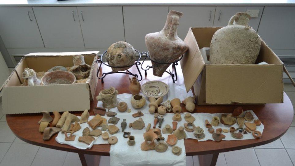 Συνελήφθη ζευγάρι αρχαιοκάπηλων στο Ηράκλειο