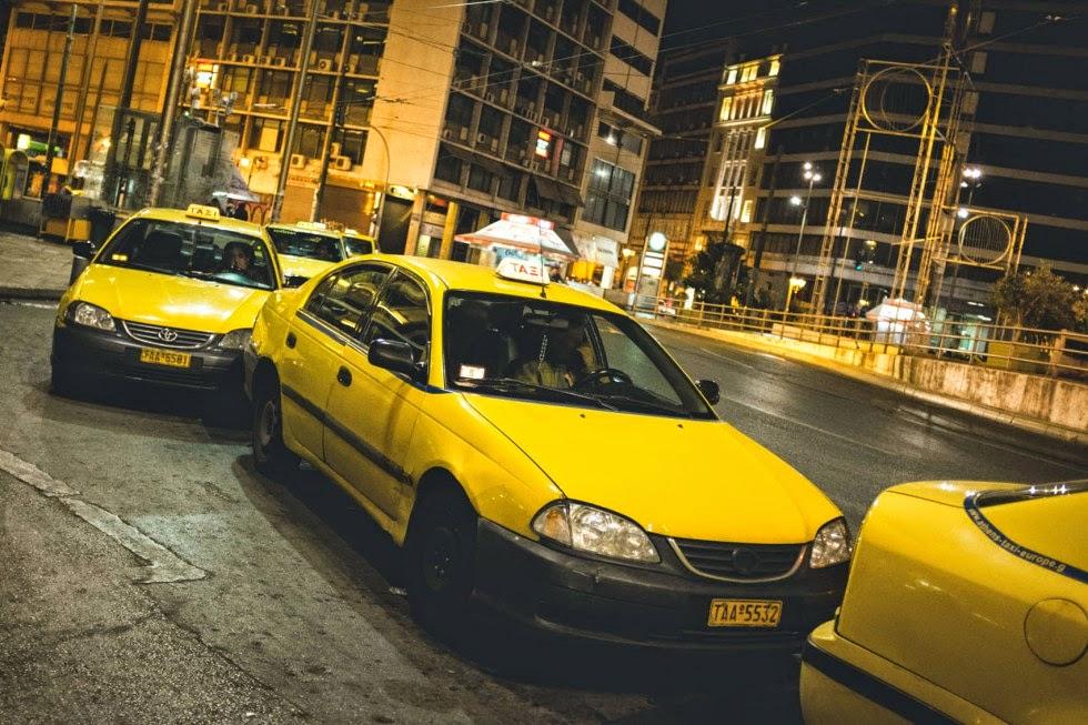 Χωρίς ταξί την Τρίτη για τέσσερις ώρες η Αθήνα