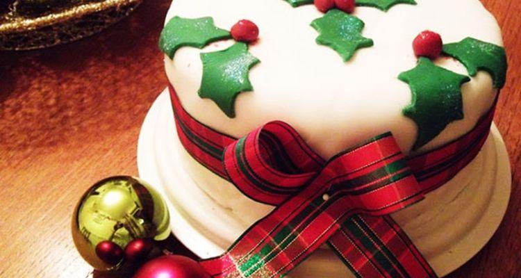Christmas cake τέλειο!