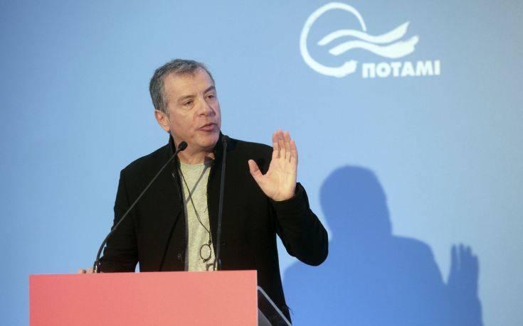 Θεοδωράκης: Το Ποτάμι θέλει 500.000 ψήφους στις ευρωεκλογές