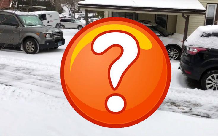 Μπορείς να διώξεις το χιόνι με ένα ποδήλατο;