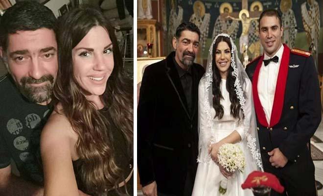 Συγκινημένος ο Μιχάλης Ιατρόπουλος: Πάντρεψε την κόρη του με αξιωματικό και «λιώνει» από περηφάνια