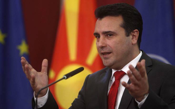 Ο Ζάεφ συναντήθηκε με ελληνική αντιπροσωπεία στα Σκόπια