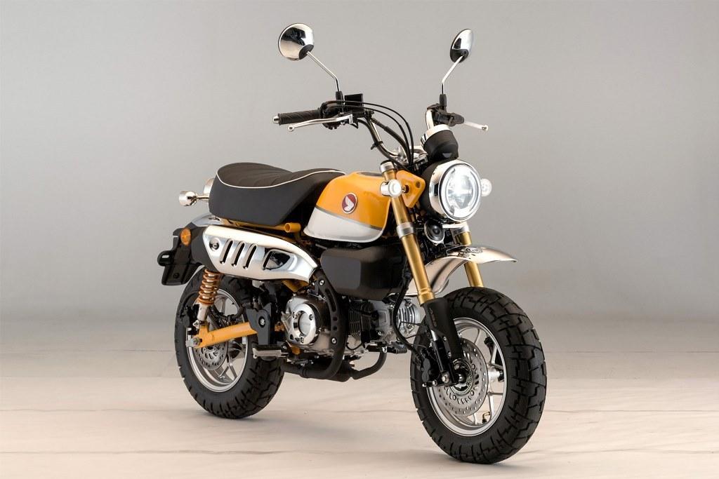HONDA MONKEY 125 ABS : Το εμβληματικό, mini-bike της Honda επιστρέφει