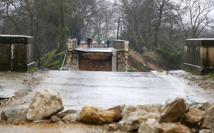Πάνω από 100 εκατομμύρια οι ζημιές από τις βροχοπτώσεις στην Κρήτη