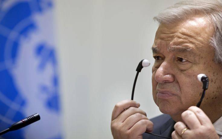 Δραματική έκκληση για τα πυρηνικά από τον Γενικό Γραμματέα του ΟΗΕ