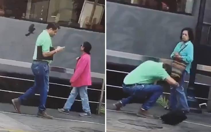 Άντρας δέχτηκε επίθεση από… πουλί την ώρα που περπατούσε στο δρόμο