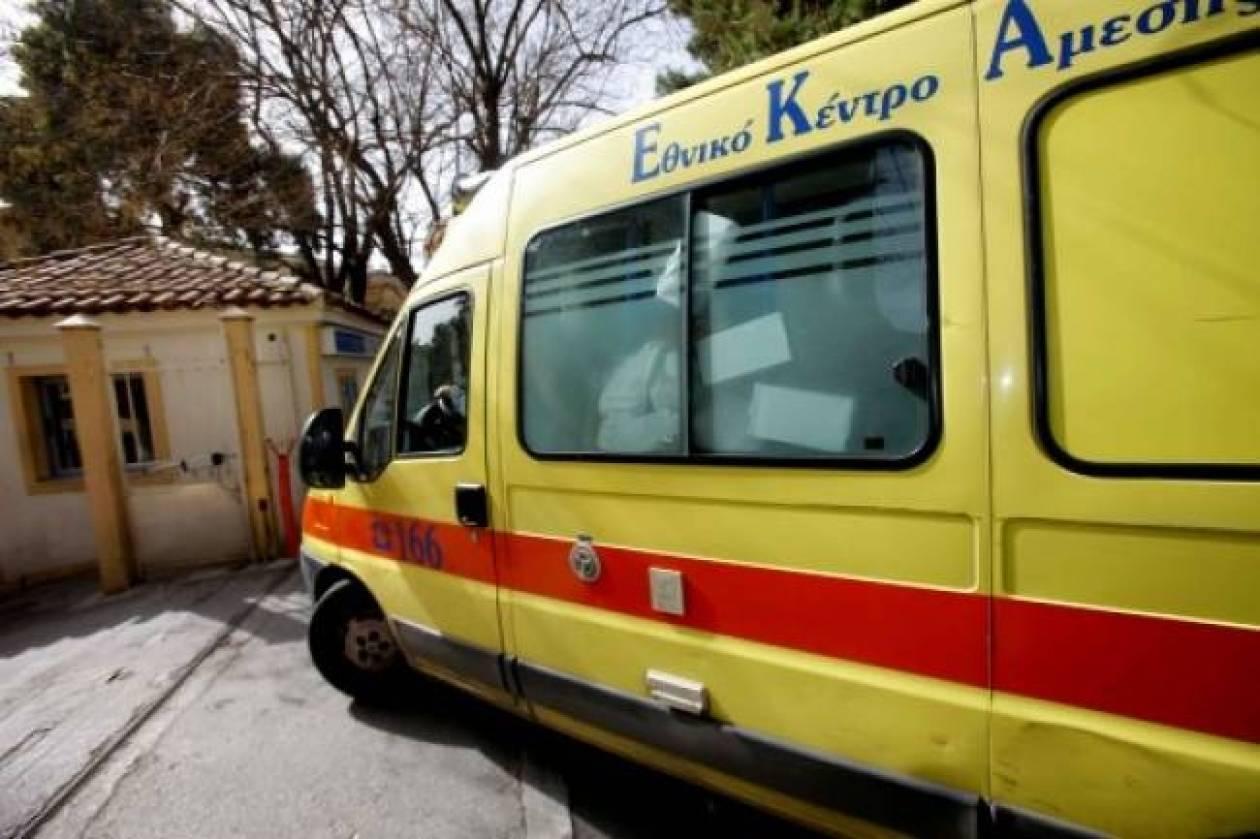 Ηράκλειο: Τροχαίο ατύχημα στην παραλιακή – Δύο τραυματίες