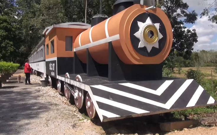 Όχι, δεν είναι τρένο αυτό που βλέπετε!