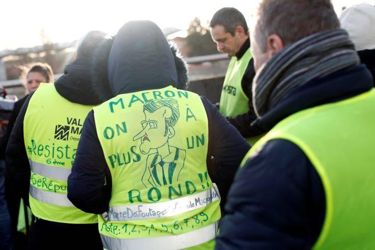 Ο Έλληνας ηγέτης των «κίτρινων γιλέκων» στη Γερμανία