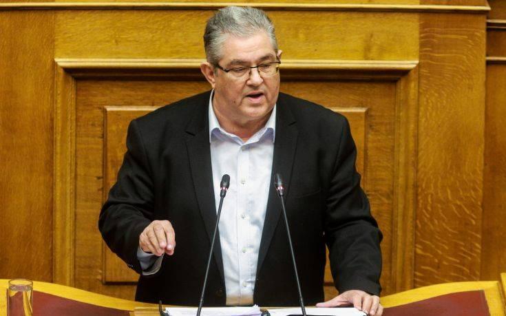 Κουτσούμπας: Το καλύτερο βαποράκι των ΗΠΑ στα Βαλκάνια η κυβέρνηση