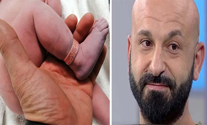 Συγκινεί ο Υπάτιος για τη νεογέννητη κόρη του: «Μαζί με εσένα σήμερα γεννήθηκα κι εγώ»