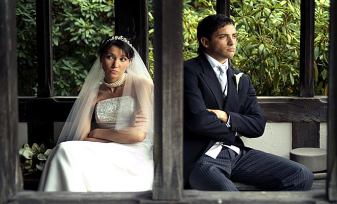 Νύφη χώρισε τον Γαμπρό 3 λεπτά μετά τον γάμο, εξαιτίας μιας ατάκας