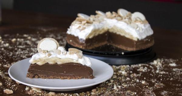 Banoffee με σοκολάτα του Άκη Πετρετζίκη