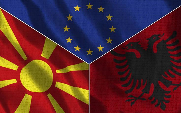 Διερευνητική αποστολή σε Τίρανα και Σκόπια που περιμένουν να ανοίξει η πόρτα της Ε.Ε.