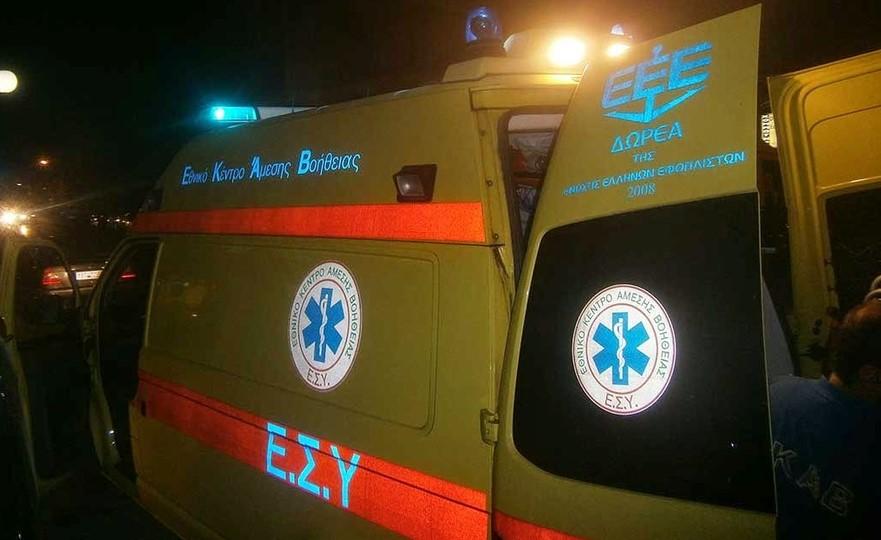 Ρέθυμνο: Νεαρός οδηγός εγκλωβίστηκε στο αυτοκίνητό του μετά από τροχαίο