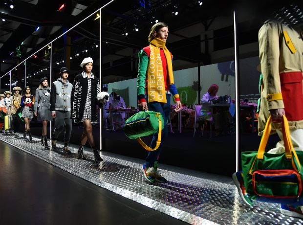 Η πολύχρωμη συλλογή της United Colors of Benetton στην Εβδομάδα Μόδας του Μιλάνου