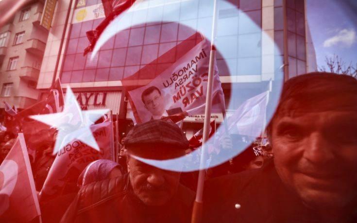 Πρόκληση για τον Ερντογάν οι σημερινές δημοτικές εκλογές