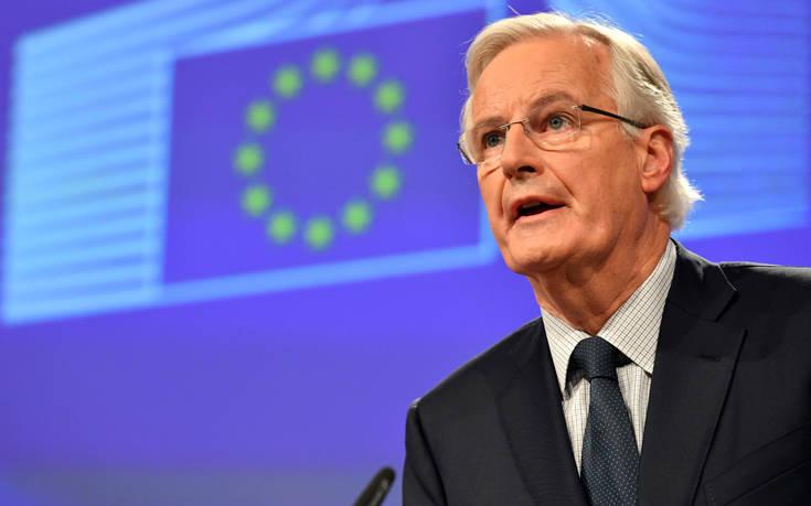 Μπαρνιέ: Πρέπει να υπάρχει ξεκάθαρος στόχος για αναβολή του Brexit
