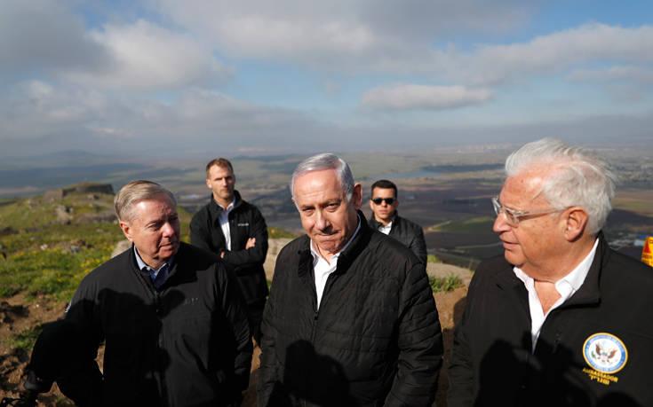 Τουρκία και Ισραήλ στα πρόθυρα κρίσης για τα Υψίπεδα του Γκολάν