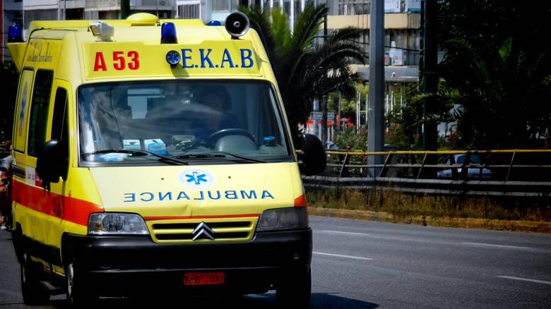 Γυναίκα έπεσε από τον 1ο όροφο στο Ηράκλειο