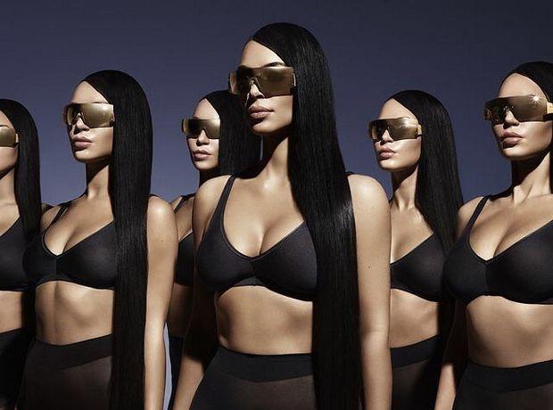 Ένας ''στρατός'' από Kim Kardashians φωτογραφίζεται για καμπάνια γυαλιών ηλίου