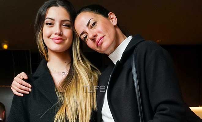 Εύη Αδάμ: Βραδινή έξοδος με την κούκλα κόρη της, Δανάη Λιβιεράτου! [Εικόνες]