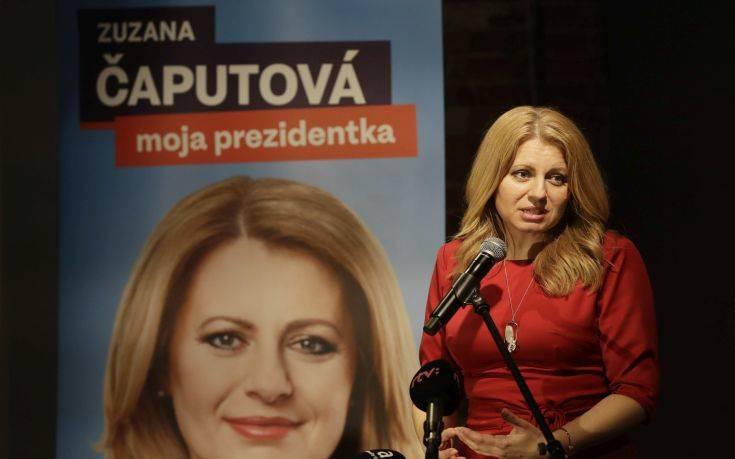 Η πρώτη γυναίκα που οδεύει για την προεδρία της Σλοβακίας