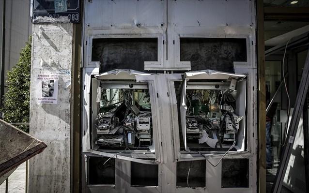 Ηράκλειο: Σύλληψη νεαρού για εμπρησμό σε ΑΤΜ