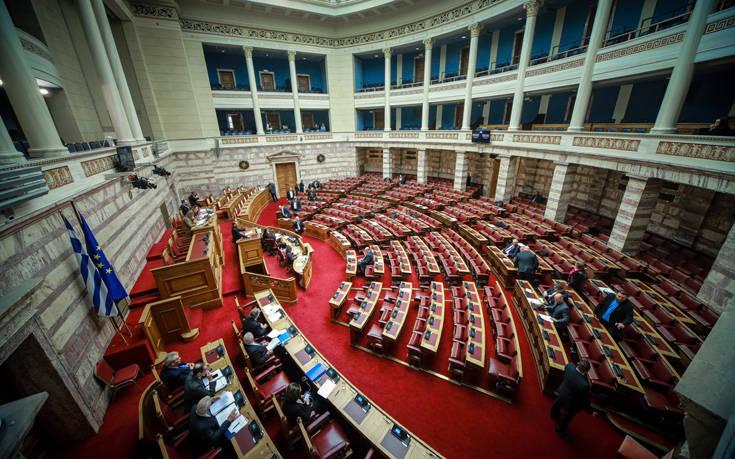 Ψηφίστηκε η τροπολογία για τους βουλευτές που είναι υποψήφιοι στις ευρωεκλογές