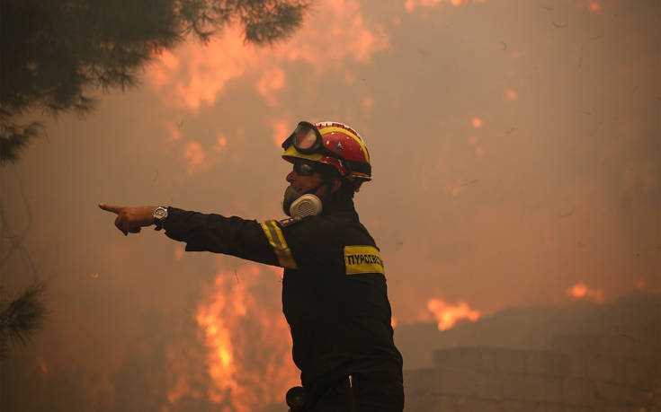 Υπό έλεγχο πυρκαγιά σε δασική έκταση στη Θεσσαλονίκη