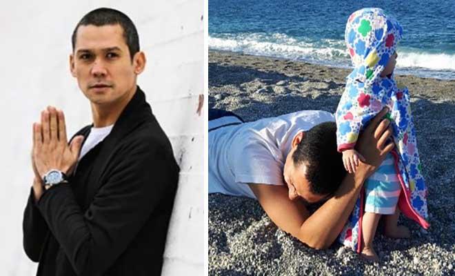 Σωτήρης Κοντιζάς: Συγκινεί η φωτογραφία και η αποκάλυψη για τις αλλεργίες της κόρης του