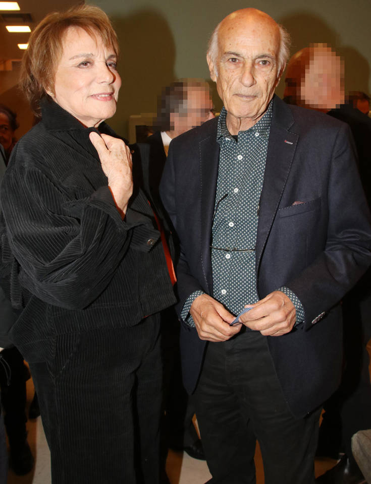 Σπάνια εμφάνιση της Μπέτυς Αρβανίτη με τον σύζυγό της