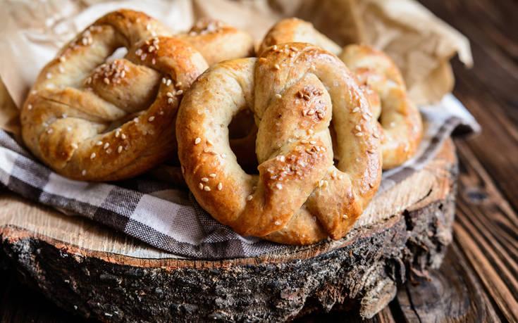 Σπιτικά pretzel