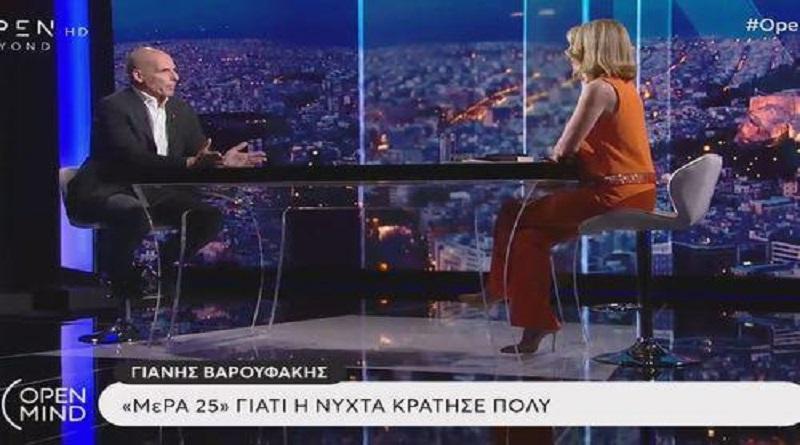 Πιο αποκαλυπτικός από ποτέ ο Γιάνης Βαρουφάκης: Η εξομολόγηση-ντοκουμέντο το βράδυ του δημοψηφίσματος (βίντεο)