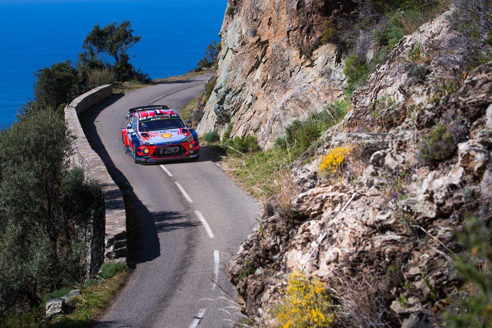 Πανηγύρια για τη Hyundai Motorsport στο Ράλι Κορσικής του WRC 2019